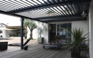 Rotating Louvers Pergola